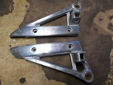 1985 Suzuki GV700 GV 700 Madura Rear Foot Peg Brackets