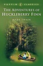 NEW  the ADVENTURES OF HUCKLEBERRY FINN ( by Mark Twain ) Green cover Puffin