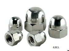 1/4UNC Stainless Steel Dome nuts  10 pack