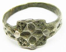 Nice Ancient Scandinavian Viking Silver Cruciform Finger Ring c. 11th century AD