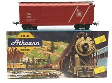 ATHEARN: 2 x 9003 40FT BOXCAR 'CENTRAL RAILROAD' - KIT BUILT - EXCELLENT