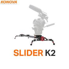 """Konova Camera Slider K2 100cm(39.4"""") Kamera Schiene Slider Videoschiene für DSLR"""