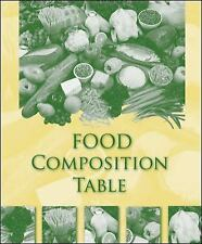 Food Composition Table, McGraw-Hill Education, 0073402567, Book, Good