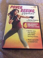 Power Boxing Workout with Marlen Esparza, Acceptable DVDs