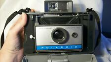 POLAROID 210 LAND CAMERA instant flash carrying case manual plates cards vintage