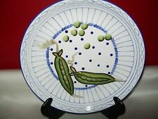 ANDREA BY SADEK DECORATIVE WALL PLATE EMBOSSED PEAS 3D