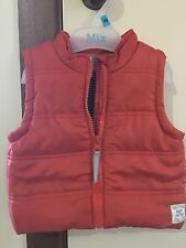 Pumpkin Patch Boy's Padded Vest Size 3-6m