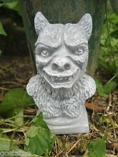 Latex only small werewolf mold plaster concrete casting garden mould