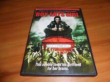 Boy Eats Girl (DVD, 2007) David Leon, Samantha Mumba Used Zombie