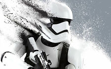 """20x30"""" STUNNING HD STORMTROOPER STAR WARS LARGE CANVAS PRINT READY TO HANG"""