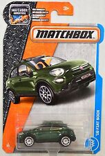 MATCHBOX 2017 ADVENTURE '16 FIAT 500X GREEN #3