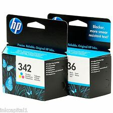 HP No 336 & No 342 Original OEM Inkjet Cartridges For Photosmart C3180