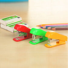 Useful Home Office Equipment Document Paper Bookbinding Tool Mini Stapler Kit CN