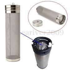 70mm x 300mm Dry Hopper Brewing Filter For Cornelius Kegs Homebrewing