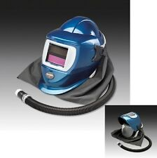 Allegro 9904‐DW Deluxe Supplied Air Shield and Welding Helmet (Blue)