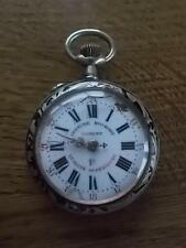 Antique c19th Silver ROSKOPF Patent Pocket Watch Geneva Exhibition winner 1896