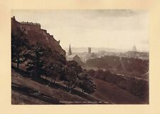 EDINBURGH From Mound Place - Albumen Photograph 1880 by George Washington Wilson