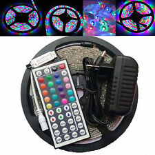 RGB 5M 3528 LED Strip Light 300 led + 44key IR Remote Control + 12V Power Supply