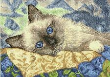 Dimensions Gold Collection Petites Charming - Cat Cross Stitch Kit