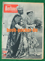 ILLUSTRIERTE BERLINER ZEITSCHRIFT 1956/7: Anita Ekberg / Lettland / Nigeria