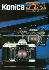 KONICA - FT-1 Motor - Prospekt - B2214