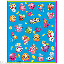 SHOPKINS STICKERS Birthday Party Supplies Treat Bag Favors Classroom Rewards