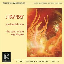 "* REFERENCE RECORDINGS - RM-1502 - STRAVINSKY - ""THE FIREBIRD"" - 200 grams *"