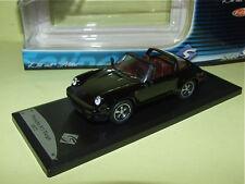 PORSCHE 911 TARGA Noir 1977 SOLIDO