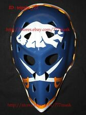 VINTAGE STREET DECK NHL ICE HOCKEY GOALIE HELMET MASK Gerry Desjard Buffalo HO30