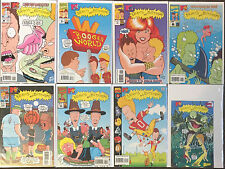 Beavis and Butt-Head 1 3 4 6 10 11 21 Ashcan Marvel Comics Lot Nm