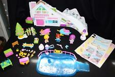 PinyPon Ski Lodge Play Set RARE Snow Famosa Almost Complete Preschool Pretend