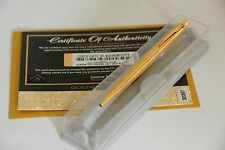 LUXURY 24CT GOLD PLATED PARKER CLASSIC JOTTER BALL POINT WRITING PEN IN GIFT BOX