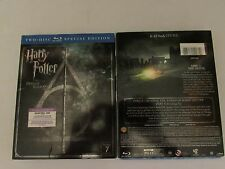 HARRY POTTER  DEATHLY HALLOWS PT. 2 NEW , 2 DISC BLU RAY + DIGITAL 2016 -