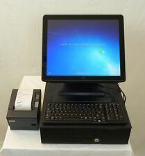 Elo All-in-One Touch Computer POS Register 17B2 E309211 Warranty with Keyboard