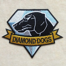 METAL GEAR DIAMOND DOGS EMBROIDERY IRON ON PATCH BADGE
