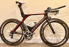 Kestrel 4000 carbon Time Trial/Triathlon w/ Dura Ace Di2 11 spd sz large Ironman