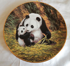 """THE PANADA"" Plate by Will Nelson LAST OF THEIR KIND: Endangered Species"