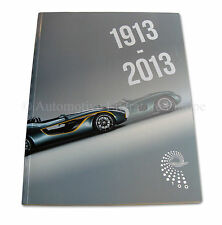 1913 - 2013 ASTON MARTIN 100 YEARS OF POWER, BEAUTY AND SOUL BOOK BUCH SOFTCOVER