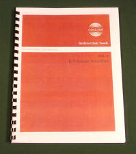 Collins 30L-1 Instruction Manual - Premium Card Stock & Protective Covers!