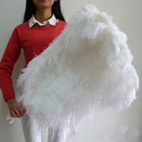 Wholesale10-100pcs High Quality Natural WHITE OSTRICH FEATHERS 6-24inch/15-60cm@