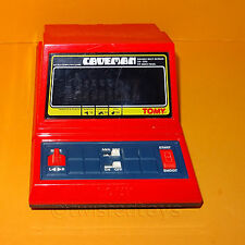 VINTAGE 1982 GRANDSTAND 11196 CAVEMAN ELECTRONIC MINI ARCADE GAME RED VERSION