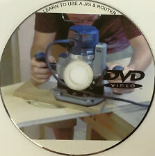 LEARN TO USE A JIG & ROUTER TO CUT KITCHEN WORKTOPS DVD WITH FREE 1st CLASS P+P