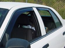 In-Channel Vent Visors for a 1992 - 2011 Ford Crown Victoria