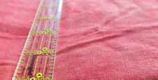 Linen Rayon blend apparel fabric Orange marbled tonal hand dyed 34x50