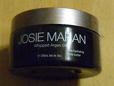 JOSIE MARAN ARGAN OIL BODY BUTTER light bronze VANILLA PEACH ILLUMINIZING unseal