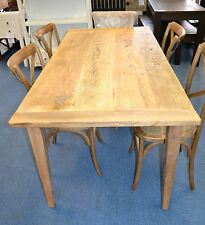Recycled Rustic  Elm Wood  Rustic  Dining Table  150cm long