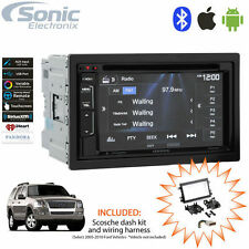 Kenwood DDX24BT Double DIN Bluetooth DVD Car Stereo Receiver for 2005-10 Ford