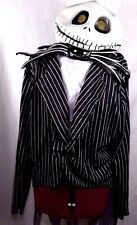 Jack Skellington Nightmare Before Christmas Halloween Costume XL 42-46 Skeleton