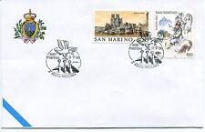 1996-07-06 San Marino 2°Rocche per la pace ANNULLO SPECIALE Cover