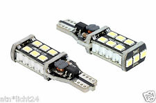 2x 12V CAN-Bus W2.1x9.5d T15 W16W 3528 Power LED SMD Lampe Xenon Weiß 6000K CAR